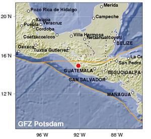 Fuerte sismo sacude frontera de México y Guatemala, y El Salvador