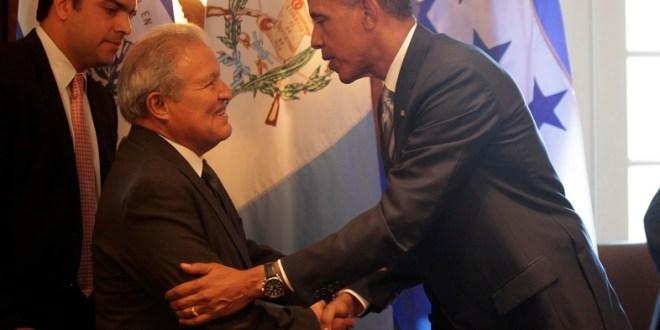 """Sánchez Cerén califica como """"fructífera"""" reunión con Obama"""