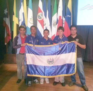 Salvadoreños ganan segundo lugar en la XVI Olimpiada Matemática de Centroamérica y el Caribe