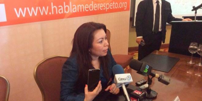 """""""Hemos comenzado la ruta de la transparencia  y vamos a continuar"""": Blanca Coto"""