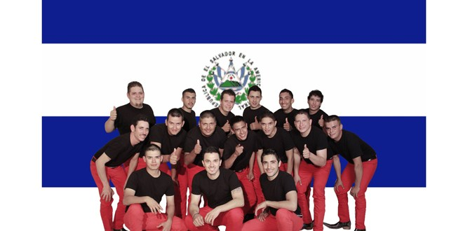 Banda La Movida causa  sensación en El Salvador