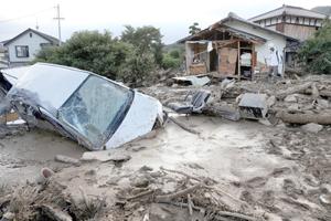 Aumenta a 39 muertos y 43 desaparecidos el balance por corrimientos de tierra en Japón