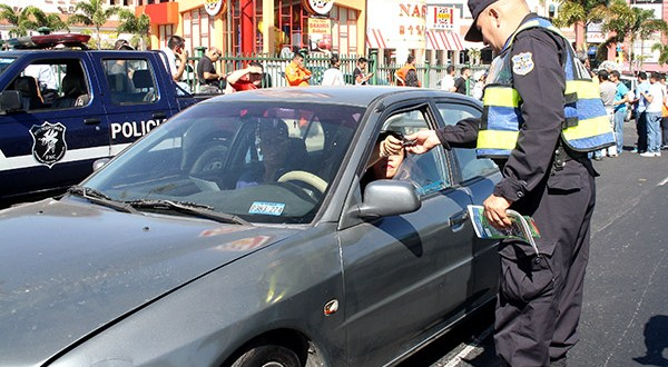PNC reporta 30 capturas de conductores temerarios en lo que va de la vacación