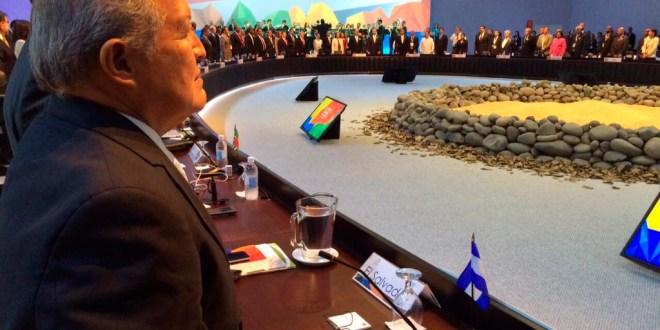 Presidente Sánchez Cerén participa en III Cumbre de la CELAC