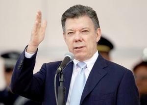 En pos de paz en Colombia, Santos insta a guerrilla ELN a seguir pasos de FARC