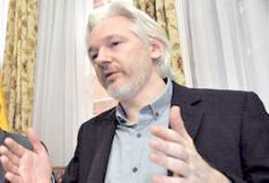Para Assange, geopolítica de Occidente estimuló ataque en París