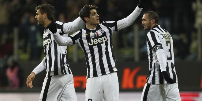 Morata mete a la Juventus  en semifinales de la Copa Italia