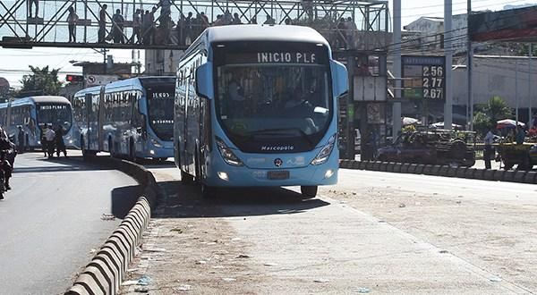 Gobierno y empresarios inician prueba de nuevo sistema de transporte