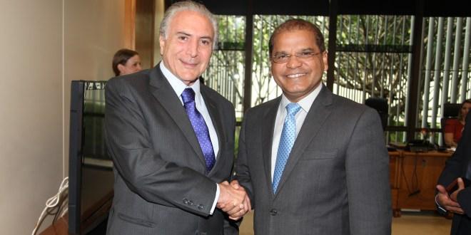 Vicepresidente se reúne con nuevos gobernantes brasileños