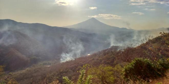 Comisión Nacional de Protección Civil gestiona fondos para atender emergencia por incendios