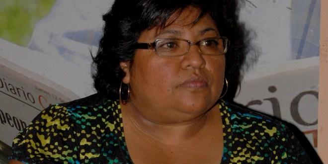 La aspirante por el CD, Carmen Hernández  presenta su plataforma