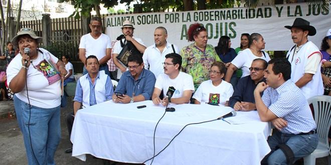 Demandan que Sala de lo Constitucional no contribuya en la desestabilización del país