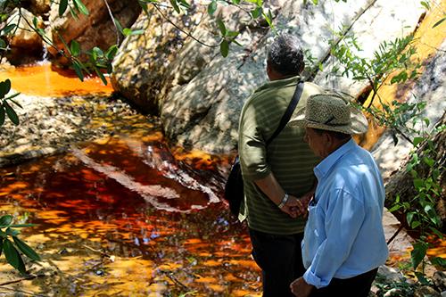 El río que murió por la minería