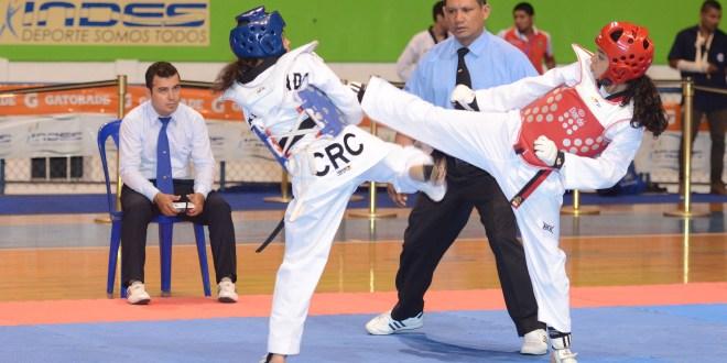 Taekwondoistas van al Open Internacional de Costa Rica