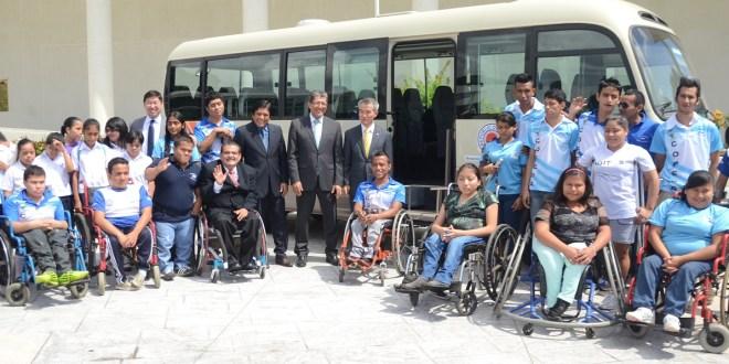 Embajada de Corea ayuda al deporte inclusivo