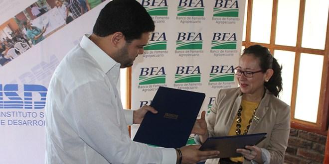ISDEM y BFA fortalecen sus funcionalidades con firma de convenio