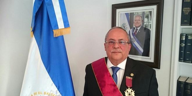 """Embajador Marcos  Gregorio Sánchez Trejo recibe Condecoración """"Gran Cruz Orden al Mérito Iberoamericano Antonio Nariño"""""""