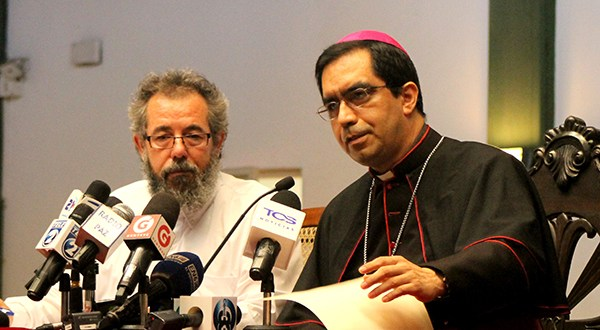 Iglesia católica pide deponer confrontaciones políticas