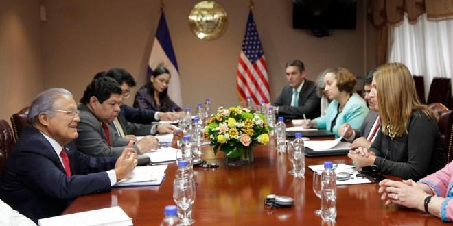 Presidente Sánchez revisa avances en Triángulo Norte con comitiva estadounidense