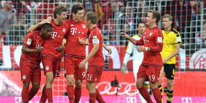 Bayern golea al Dormtund y se queda sin rivales en la cima