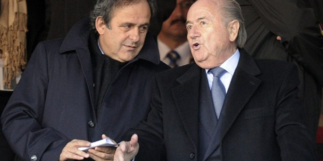 FIFA reduce a seis años la sanción de Blatter y Platini