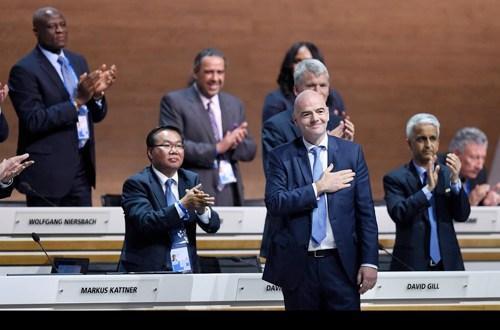 Gianni Infantino, un presidente por accidente