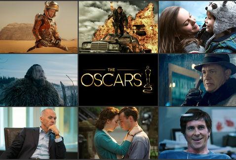Los ganadores de la 88 edición de los Oscar