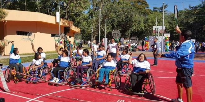 Festival de la amistad paralímpico