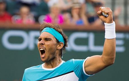 Nadal gana con dificultad a juvenil alemán y avanza en Indian Wells