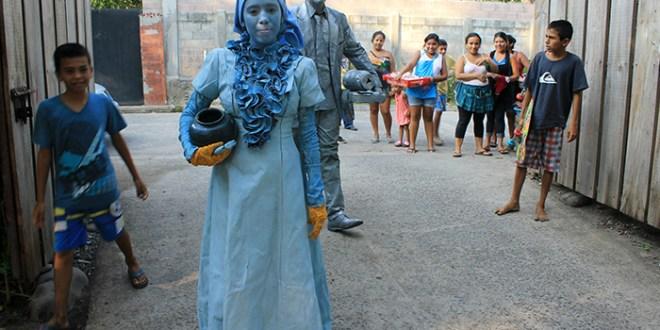 En El Zonte se vivió una fiesta de recreación, cultura y arte