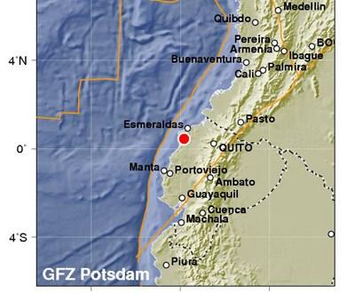 Sismo de magnitud 6,8 sacude Ecuador un mes después de devastador terremoto