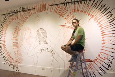 El dibujo, para mí, va más allá del papel y del lápiz: Vladimir Renderos