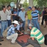 Agricultores de 30 municipios del país se verán beneficiados con la capacitación impartida por expertos cubanos en la aplicación y manejo de productos biológicos. Foto Diario Co Latino