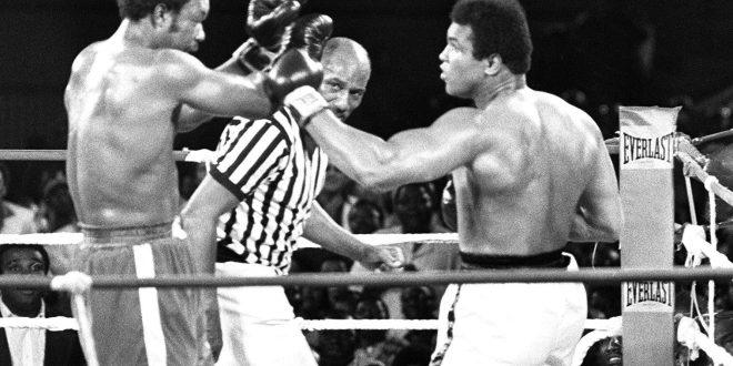 De Roma a Manila:Los cinco grandes combates de Mohamed Ali