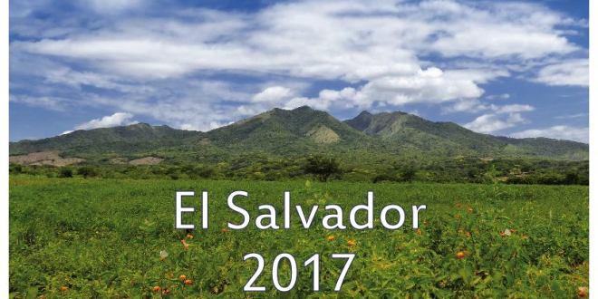 Paisajes y cultura de El Salvador en calendario 2017