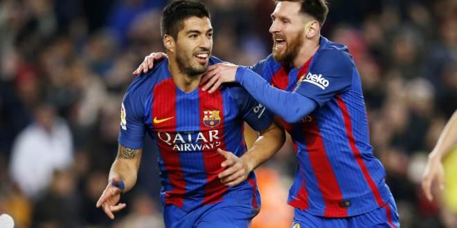 Barcelona cierra el año ganando gracias a Messi, Suárez e Iniesta