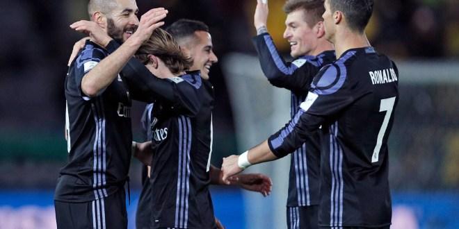 Real Madrid derrota al América y va por el Mundial de Clubes