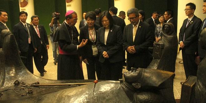 """""""Los bravos no tienen miedos, los justos viven por siempre"""": Presidenta de China (Taiwán)"""