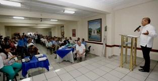 La cruzada contra la violencia en Sonsonate, con el apoyo de todos los sectores es el objetivo del gobierno de Salvador Sánchez Cerén, dijo el vicepresidente Oscar Ortiz al hacer el llamado a la población. Foto Diario Co Latino.