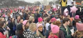 Trump enfrenta masiva protesta tras apenas una noche en la Casa Blanca