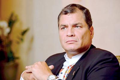 Correa detalla pruebas de la campaña sucia de la oposición
