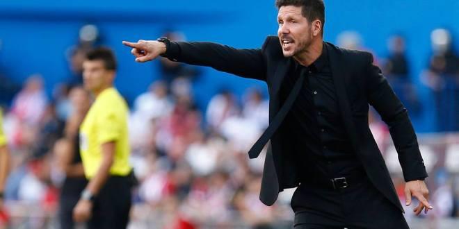 """Me tendrán que seguir soportando"": Simeone"