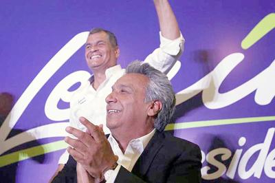Resultado de imagen para Ecuador: Moreno más cerca de ganar en primera vuelta