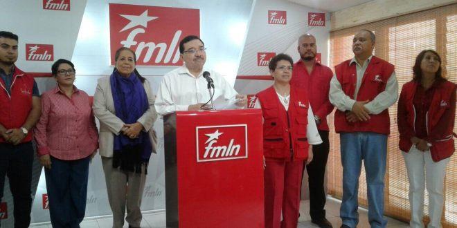 FMLN desarrollará elecciones internas en junio