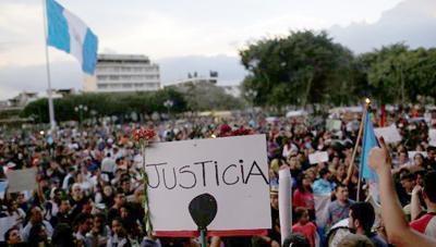 El mundo exige justicia por las niñas de Guatemala