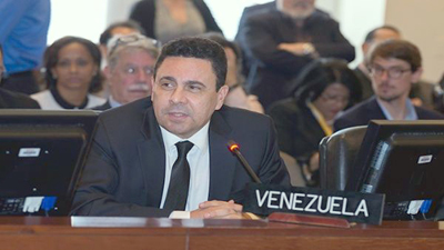 """Cuba destaca """"valiente defensa"""" de Venezuela en la 0EA"""