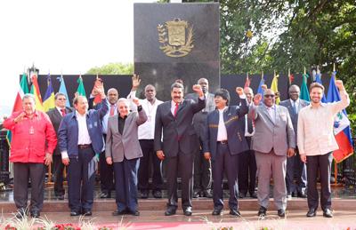 Nicolás Maduro insta a construir una zona económica del ALBA