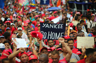 Presidente de Venezuela convoca gran marcha popular contra injerencia de Estados Unidos