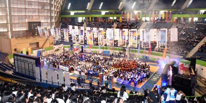 Fenomenal inicio de la fiesta deportiva estudiantil