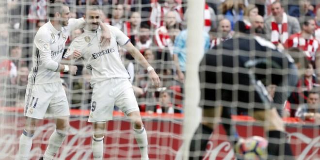 Real Madrid gana y se mantiene líder de la Liga española